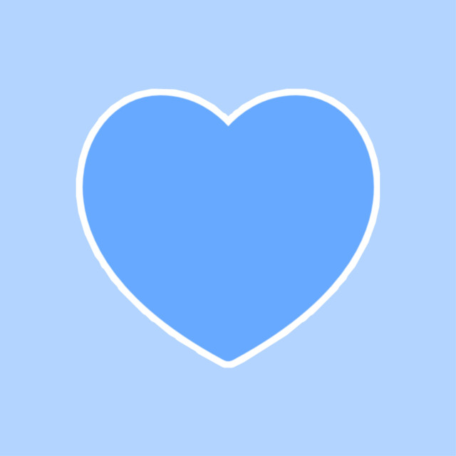 #freetoedit #aesthetic #blue #heart #lightblue