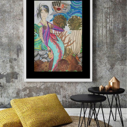 freetoedit frame mermaidart collageartist artwork