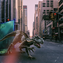 freetoedit time_gate dinosaur towncenter