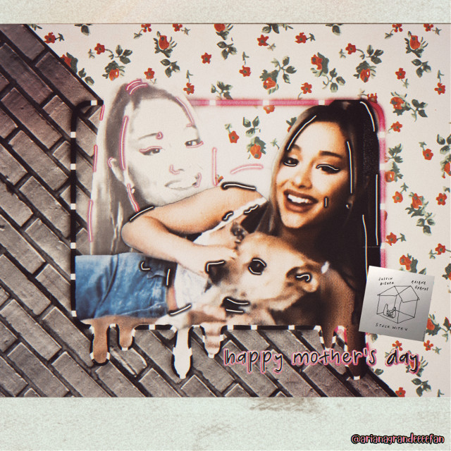 Have a nice Mother's Day!❤️ And I love Ariana's new song stuck with u! What do you think of her song? Stay safe everyone!   #arianagrande #ariana #grande #toulouse #stuckwithu #oldphoto #vintage #oldpolaroidframe  #freetoedit