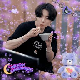 jungkook kpopedit picsart purple freetoedit