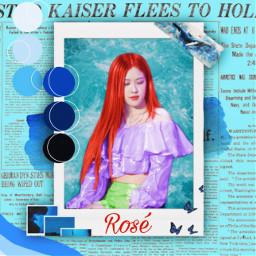 roseblackpink rose parkchaeyoung roseannepark blackpinkrose freetoedit
