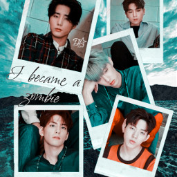 day6 kpop zombie collage polaroid freetoedit