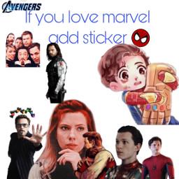 freetoedit marvel avengers addasticker addsticker