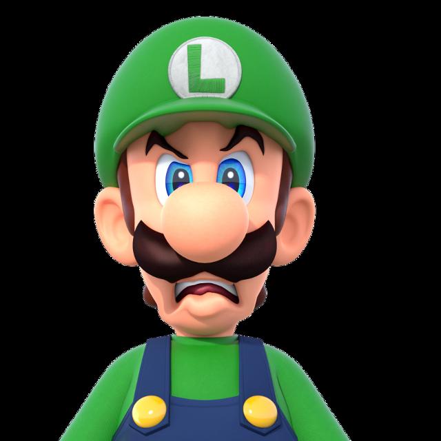 #freetoedit Mad Luigi! #luigi #mario #expression #mad