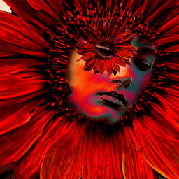 myoriginalwork originalart conceptart womanportrait colorful ecflowereyes