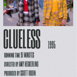 filmposter clueless aesthetic aestheticwallpaper 90s freetoedit