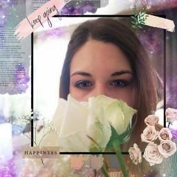 bokehmask eyecoloreffect brushtool roses whiteroses freetoedit srcflowerframe flowerframe