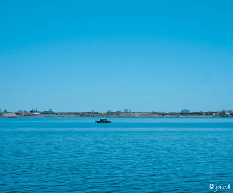 #tiny#tinyboat#blue#saltwater #freetoedit