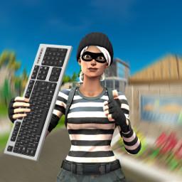 fortnite thumbnail keyboard