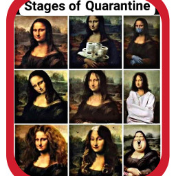 stages quarantine lol women bored