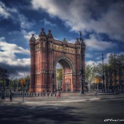 barcelona arcodeltriunfo hdr hdreffect hdrphotography