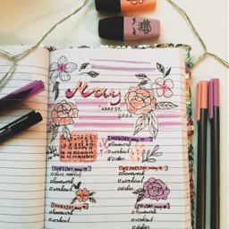 bullet notebook may freetoedit