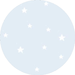 sticker stars blue white circle freetoedit