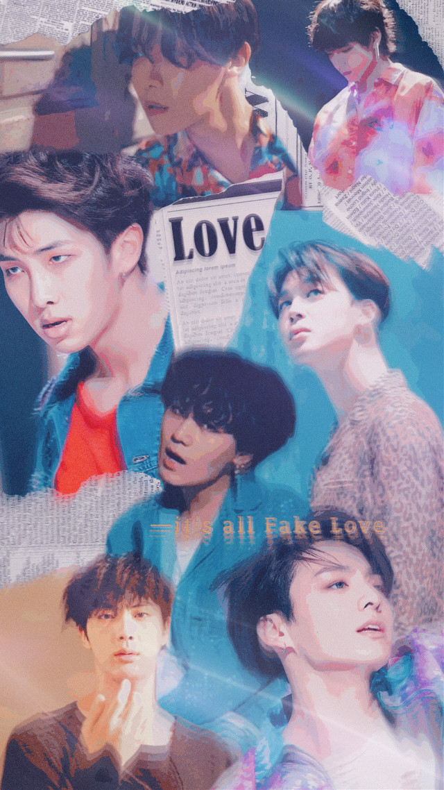 """Day 14: First Kpop Song You Ever Heard 💔 """"fake love""""-bts 🌧 (other than gangnam style or bubble pop lol)    #fakelove #fakelovebts #bts #bangtansonyeodan #musicvideo a daily challenge with: @x_yeon_x     #freetoedit"""