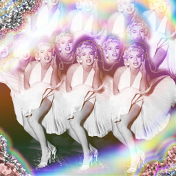 marilynmonroe glitters brushtool heartglitters rainbowmagiceffect eccolorfulkaleidoscope colorfulkaleidoscope