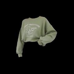 green aesthetic sweater shirt shirts freetoedit