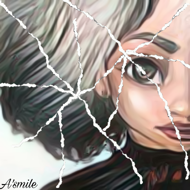 #freetoedit #@asweetsmile1 #sketched #portrait #torn #ripped #puzzle #princess #africanart #princesseries #fadedaway #beautiful #crown #queen #photo #cartoon
