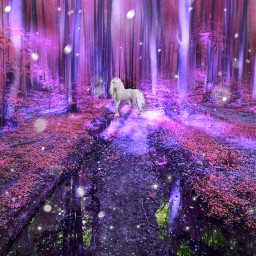 freetoedit unicorn magicforest