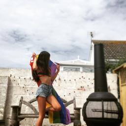 prideflags pride prideflag lgbtqpride girl freetoedit