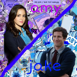 freetoedit brooklyn99 jake amy peraltiago
