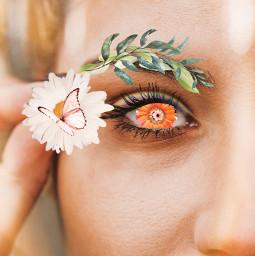 ecflowereyes flowereyes freetoedit