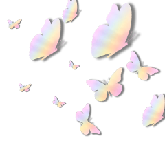 freetoedit butterfly originalart rainbow nature
