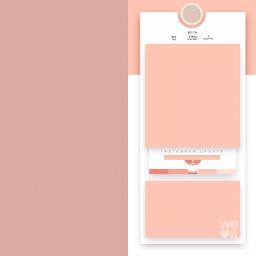 edit pastel frame overlay aesthetic