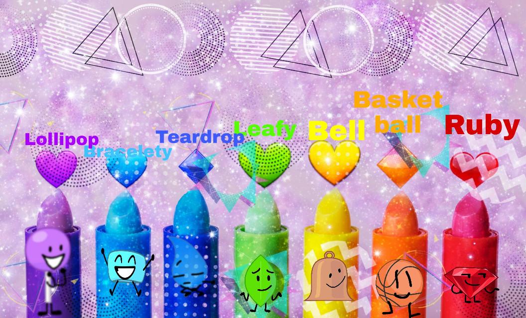 #freetoedit #Lollipopbfb #braceletybfb #teardropbfb #leafybfb #bellbfb #basketballbfb #rubybfb #rainbow #rainbowbfb