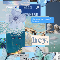 blue blueaesthetic stickers wallpapers wallpaper freetoedit