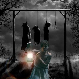 darkness lantern fear freetoedit hanging