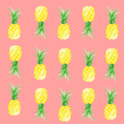 pineapple background asthetic astheticbackround freetoedit