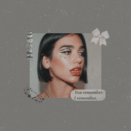freetoedit dualipa gray aesthetic music