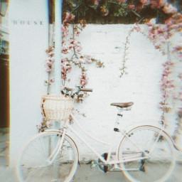 glitcheffects bike lightpinkaesthetic
