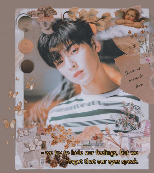 Idk vintage?? Eunwoo literally has my whole heart i adore him. Idk is it too messy?? #eunwoo #chaeunwoo #astro #eunwooastro #vintage #vintageaesthetic  #freetoedit