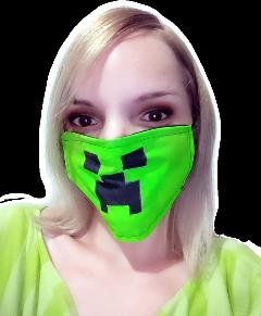 freetoedit minecraft minecraftgirl girl mascara