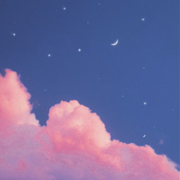 freetoedit cloud aesthetic cute moon