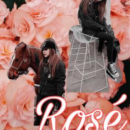 blackpink rosé kpop kpopidol freetoedit