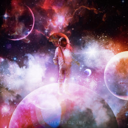 freetoedit space galaxy lonely quarantine
