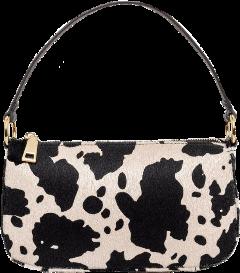 freetoedit cowprint cow bag handbag