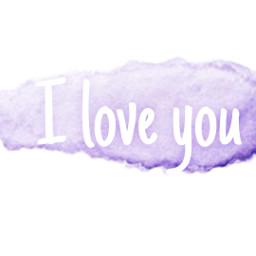 freetoedit watercolor iloveyou color