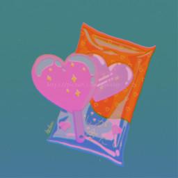 icecream icicle heart aesthetic food