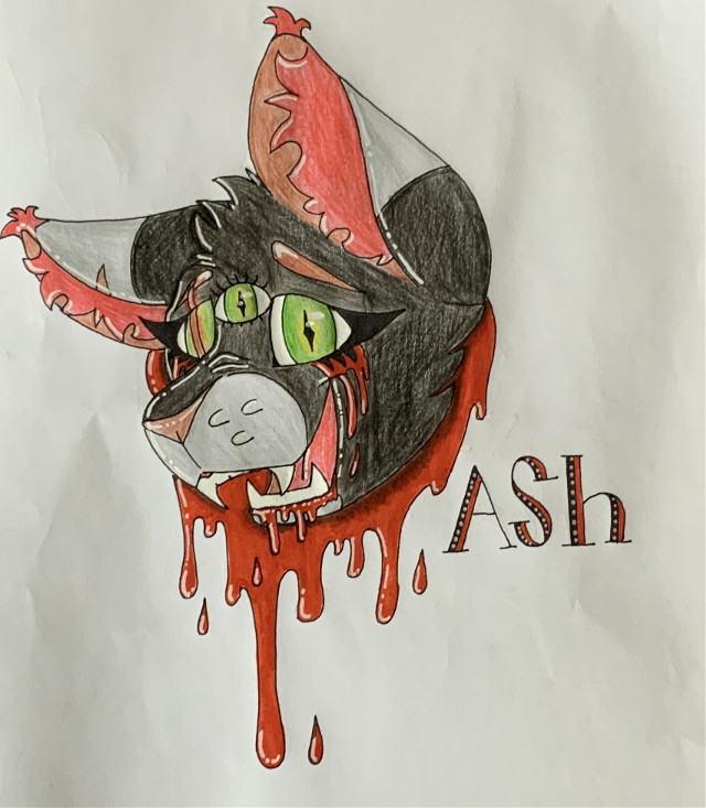 This is my girl Ash. She is actually a real sweetie belive it or not. Just adding to my OC gallery. Its gonna be a hell of gallery. I hope yall like em! More to come! #OCgallery #iloveart