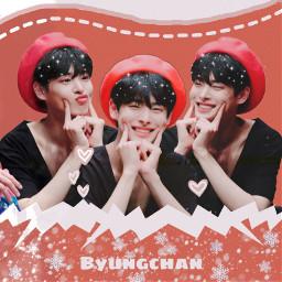 freetoedit kpop k-pop victon victonbyungchan