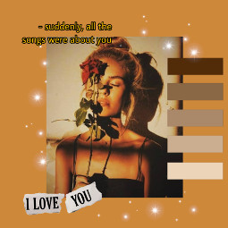 freetoedit brownaesthetic goldenhour lovequotes