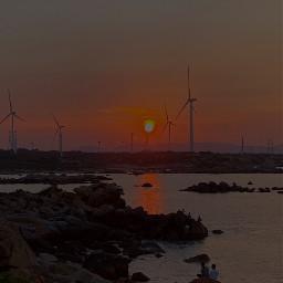 freetoedit windmill sea