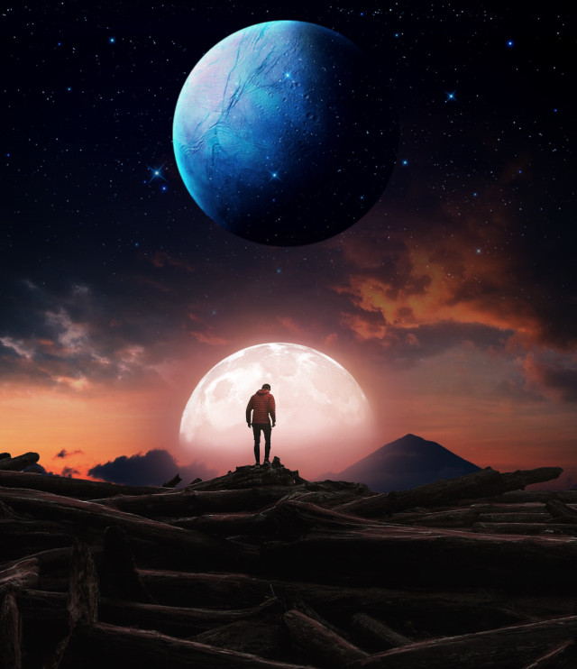 #freetoedit #myedit #surreal #space #edit #landscape