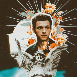 freetoedit tomholland collage vintageaesthetic vintageedit