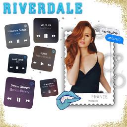 riverdale madelinepetsch riverdaleedit bts arianagrande freetoedit