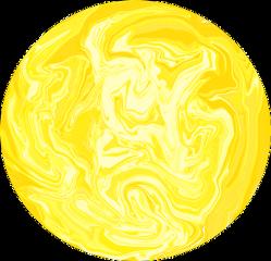 freetoedit yellow giallo amarillo planet